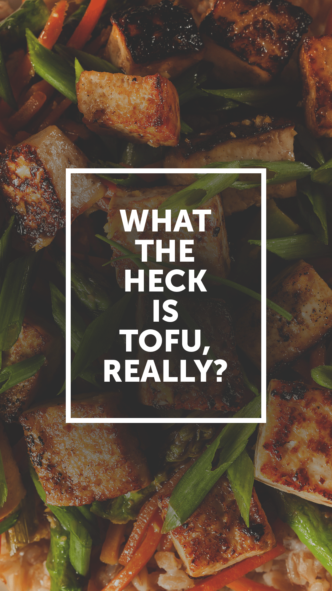 What the Heck Is Tofu, Really?