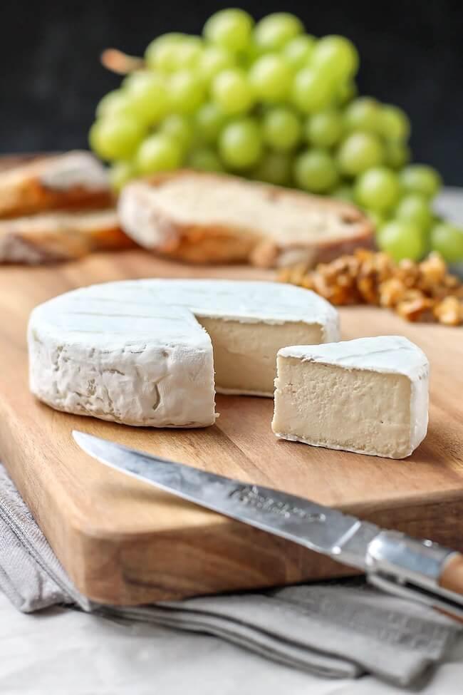 vegan camembert, vegan, cheese,