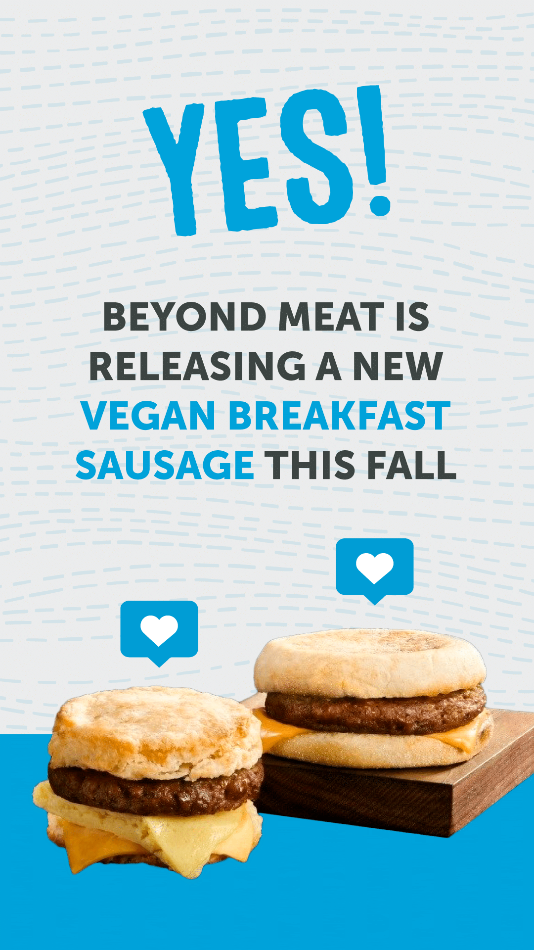 YES! Beyond Meat Is Releasing a New Vegan Breakfast Sausage This Fall