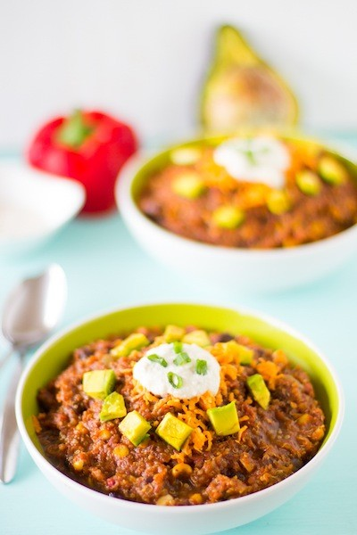 15 easy delicious vegan slow cooker recipes the green plate chili is a crockpot classic get the recipe here forumfinder Images