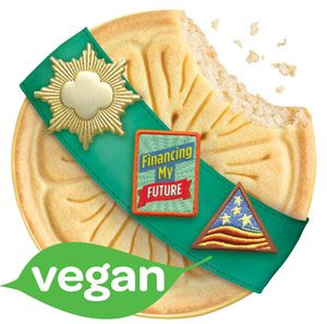 vegan girl scout cookies