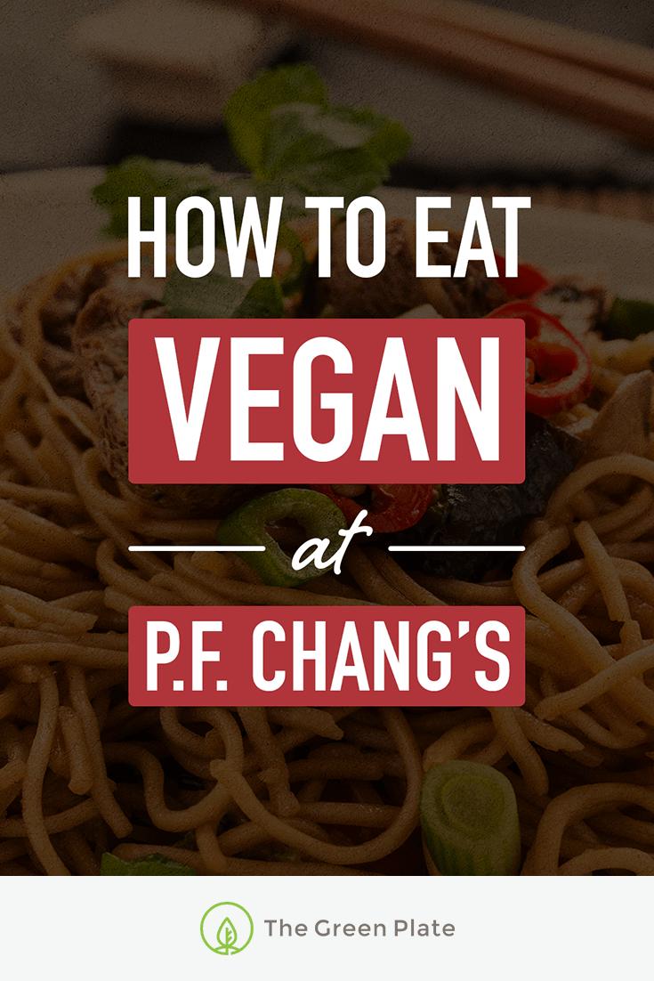 So a Vegan Walks Into P.F. Chang's…