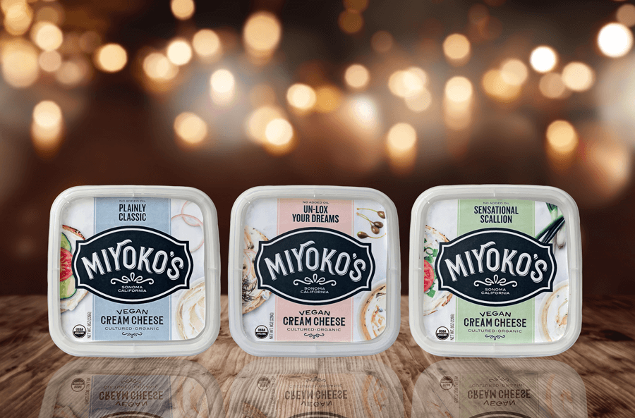 Cream-Cheese While You Were Out Miyoko Unveiled Six New Vegan Cheese Flavors