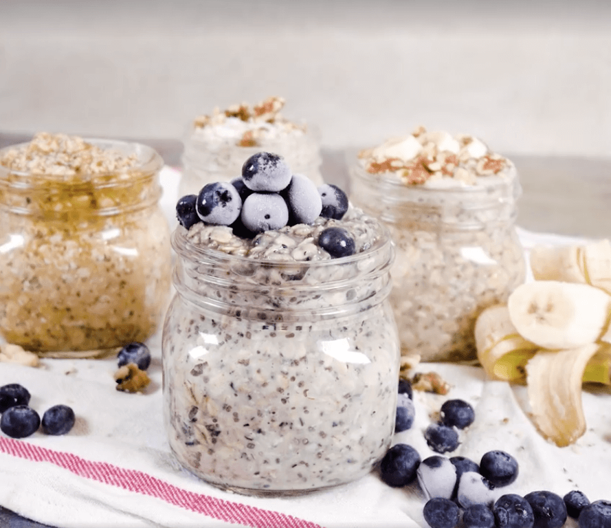 This Video Will Teach You How to Make Vegan Overnight Oats