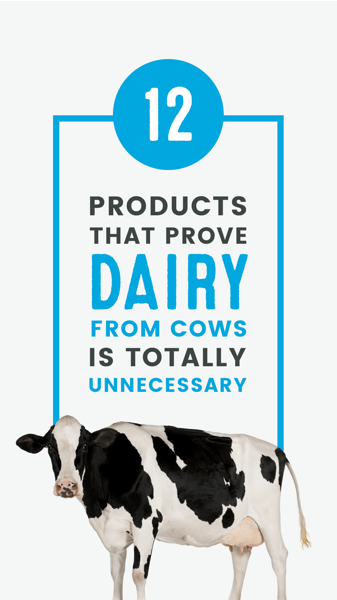12 Products That Prove Dairy From Cows Is Totally Unnecessary