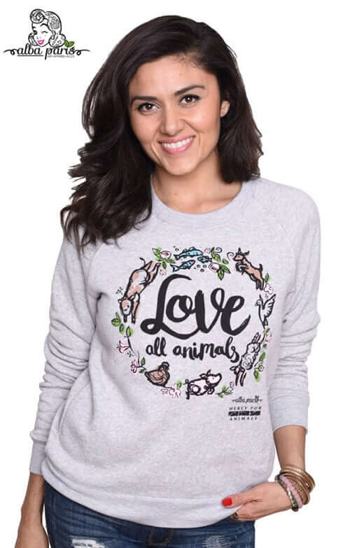 'Love Garland' Sweatshirt