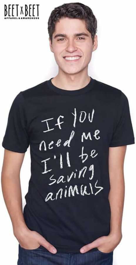 'Saving Animals' T
