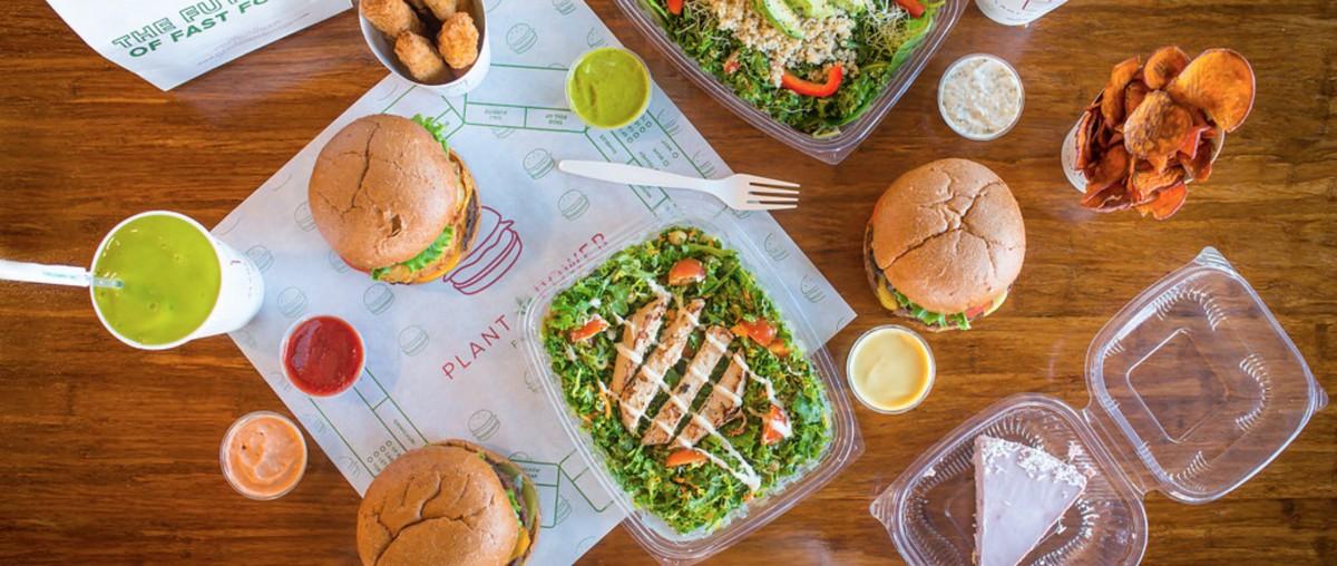 Vegan Fast Food Restaurant California