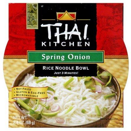 Thai Kitchen S Spring Onion Rice Noodle Soup Bowl